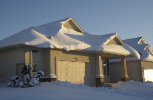 Roof Precaution! How much snow is too much?