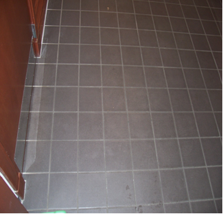 Tile Grout Cleaning Before Image